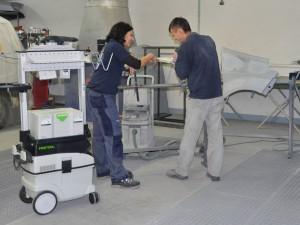 Festool Werkzeuge und Schleifmittel