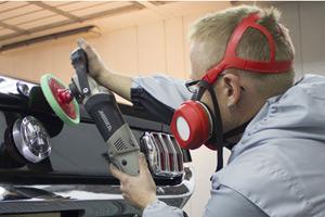 Lack Aufbereitung bei der Kohlour GmbH Nossen