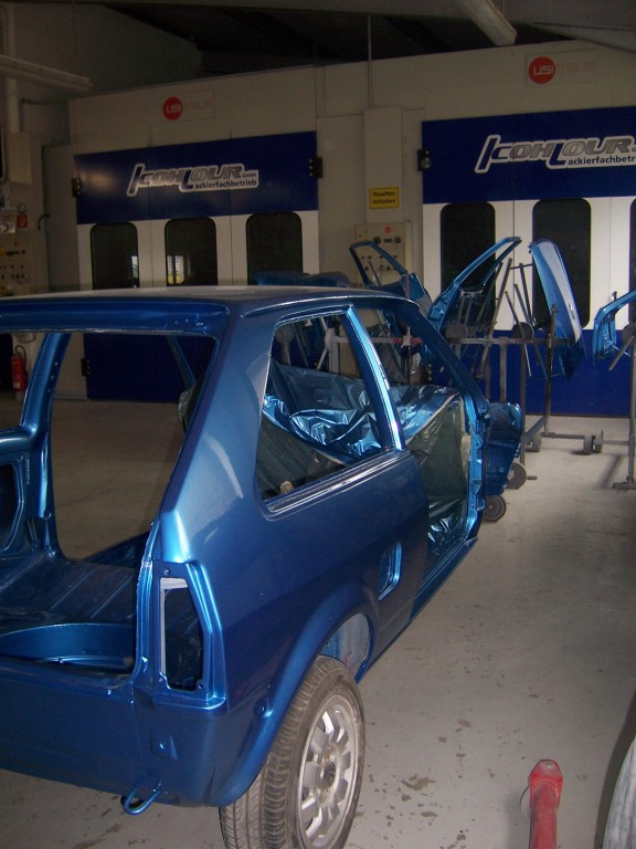 VW Polo 86C Komplett Lackierung - Seite 2