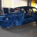 VW Polo 86C Komplett Lackierung - Front / Seite