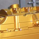 Ansaugbrücke Audi RS4 in Gold
