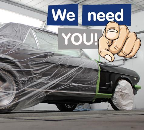 Wir Suchen Fahrzeuglackierer/in