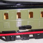 Modell Lokomotive von 1938 mit neuem Lack