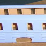 Grundierung Historische Lokomotive Modellbahn