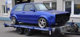Der Hol und Bring Service der Kohlour GmbH