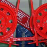 günstige lackierung von Stahlfelgen